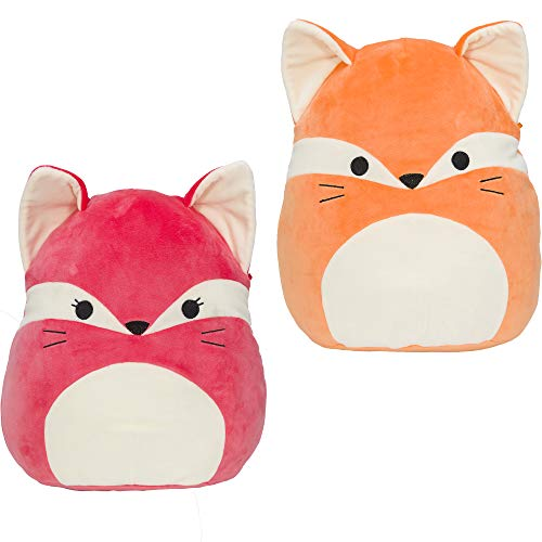 """Squishmallow Official Kellytoy Plush 12"""" Fox - ONE of Two Pictured Styles May Vary - Fifi or James"""