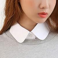 lefeindgdi Cuello alto falso para mujer cuello de media blusa para mujer. parte superior de cuello alto desmontable