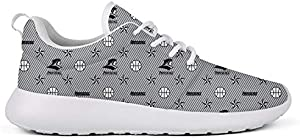 GuLuo Womens Running Shoes Breathable Flat Bottom Jogging Gym Go Easy Walking Sneaker