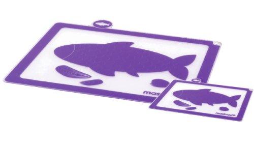 Mastrad F23105 Planches à Découper Poisson - Lot de 2