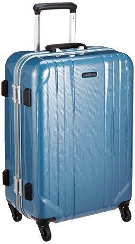 [ワールドトラベラー] スーツケース サグレス ストッパー付 50L 55 cm 4.3kg ブルーカーボン