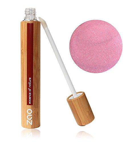 ZAO Lipgloss 001 pink rosa rose in Bambus (bio) 101001