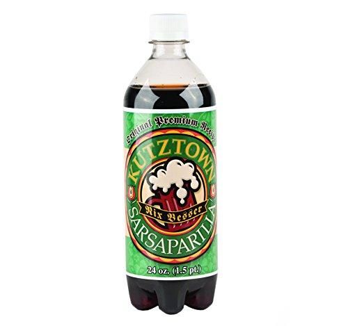 Kutztown 'Nix Besser' Sarsaparilla Soda, 24 Oz. Bottles (Pack of 4)