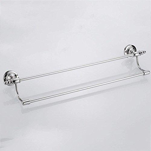 ZKAIAI Punch-Libre Toallero Toalla de baño Estante de Barra Doble Colgar de la Pared de Hardware Colgante de Acero Inoxidable de la Manera Simple Multi-Capa de Almacenamiento