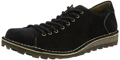 Fly London Mopy962fly, Zapatos de Cordones Derby Hombre, Negro (Black), 45 EU