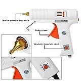 Hot Glue Gun 100-220°C Stepless Temperature Regulation Constant Temperature Hot Glue Gun Double
