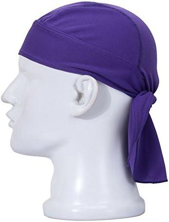 Koolip Adjustable Sweat Beanie Bandana Head Wrap Bicycle Running Mask Doo Rag Skull Cap Bike product image
