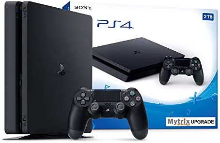 Mytrix Playstation 4 Slim 2TB Console with DualShock 4 Wireless Controller and HDMI Bundle Playstation product image