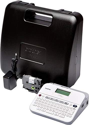 Brother P-Touch D400VP Beschriftungsgerät Geeignet für Schriftband: TZe 3.5 mm, 6 mm, 9 mm, 12 mm, 18 mm