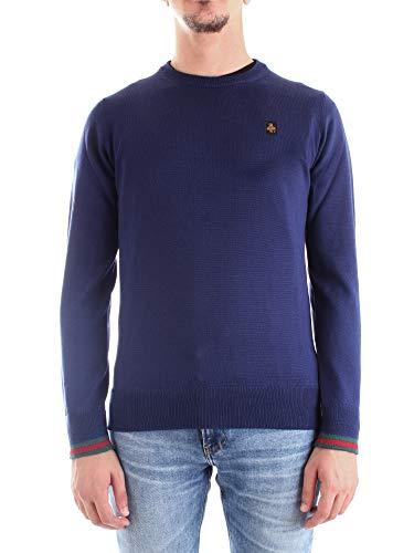 Refrigiwear Donal Pullover, Maglione Uomo, Blu (Blue F93790), Small (Taglia Produttore:S)