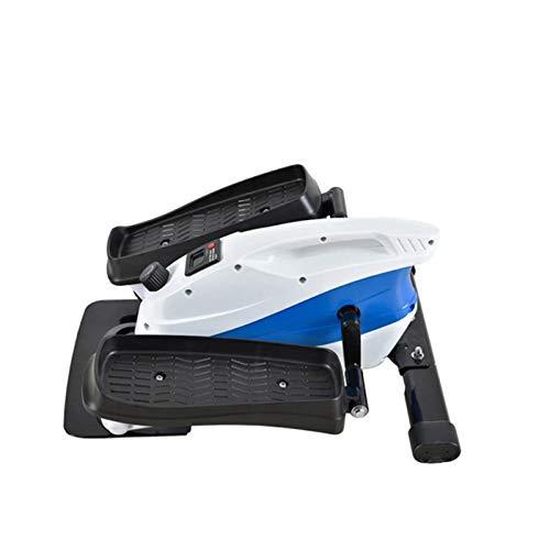 Zavddy Maquina Eliptica Mini máquina Tranquila Máquina elíptica Moda Fitness Home Office Family Stepper Adecuado para Entrenamiento Cruzado (Color : Black, Size : OneSize)