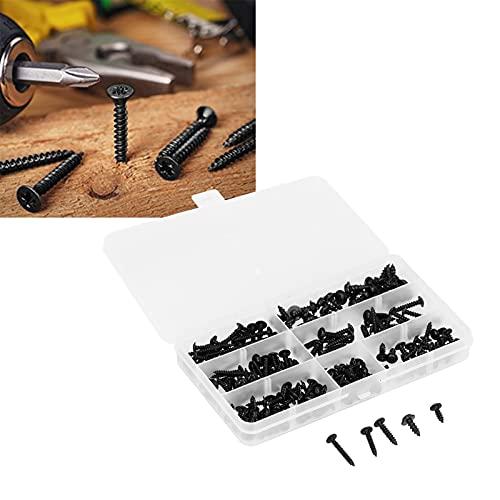 Gatuxe Assortimento di Viti, Viti per mobili fissi con 210 Pezzi per mobili in Legno pregiato, apparecchiature elettriche Electrical