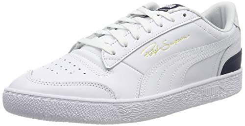 PUMA Ralph Sampson Lo, Zapatillas Unisex Adulto, Blanco Wht/Peacoat Wht, 38 EU