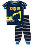 Harry Bear Boys Digger Pyjamas Snuggle Fit Blue Age 4 to 5 Years