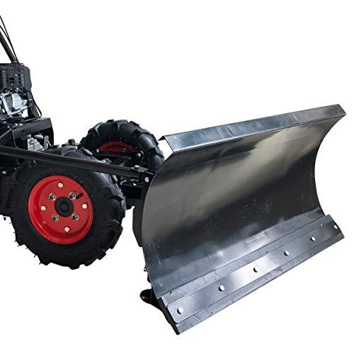 Schneeschild Räumschild Schneeräumer-Aufsatz für BRAST Benzin Motorschubkarre Mini-Dumper