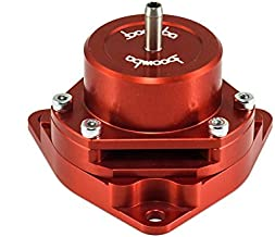 Boomba Racing Blow Off Valve BOV Red for 2017+ Honda Civic Si