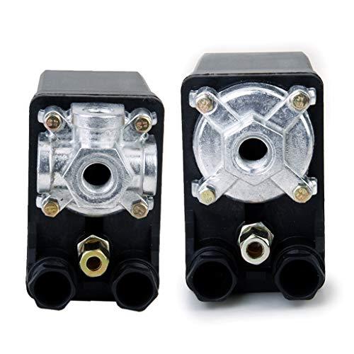 H HILABEE Válvula De Control del Regulador De Interruptor De Presión 2X F/Compresor De Aire Bomba De Agua