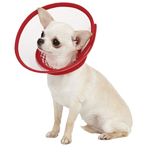 Alfie Pet - Zumi Recovery Collar with Soft Edge (for Dogs & Cats) - Color: Red, Size: XS