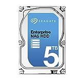 Seagate 5TB Enterprise NAS HDD SATA 6Gb/s 128MB Cache 3.5-Inch Internal Bare Drive (ST5000VN000…