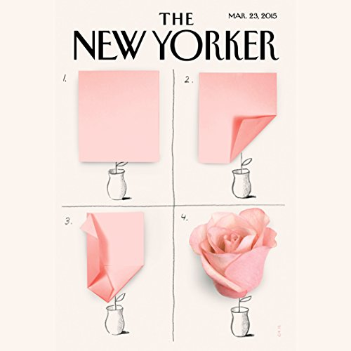 The New Yorker, March 23rd 2015 (Rebecca Mead, Patricia Marx, James B. Stewart) copertina