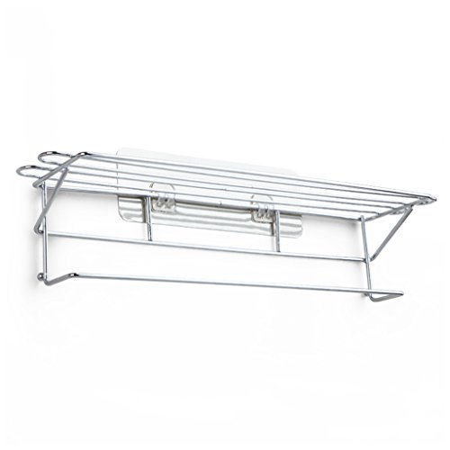 Accesorios de hardware de la barra de toalla Toallero baño cuarto de baño solo espacio aluminio acero inoxidable toallero de baño Toalleros de barra