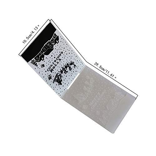 ETbotu trouwkaart, deko hochzeit,1PC Kerstmis Serie Sjabloon Craft Card Maken Papier Kaarten Fotoalbum Bruiloft Decoratie Scrapbooking Embossing Mold