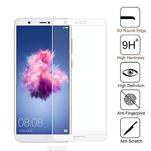 KDLLK Gehärtetes Glas mit vollständiger Abdeckung, für Huawei P Smart 2019 Displayschutzfolie, für Huawei Huwei Y9 2018 Y3 Psmart Plus Glasschutzfolie