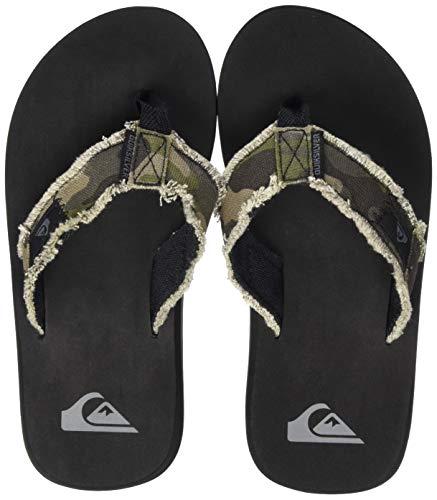 Quiksilver Monkey Abyss Youth, Zapatos de Playa y Piscina Hombre, Marrón (Green/Green/Black Xggk), 36 EU