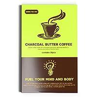 チャコールバター 緑茶コーヒー 1杯糖質0.44(1.3g×30包) テアニン カテキン… (バター緑茶)