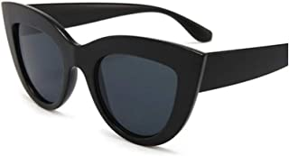 The Vintage 50s Pop Art Retro Cat Eye Plastic Frame Clout Goggles Sunglasses for Girls and Women