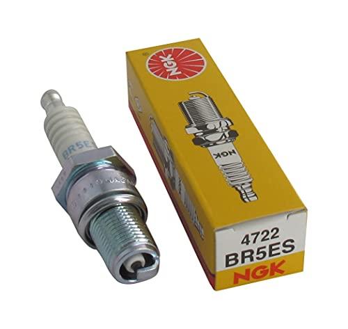 BR5ES - Candela con terminale rimovibile BR5ES compatibile con HONDA NSR 50 AC08 (1 Cyl) 1989-1995