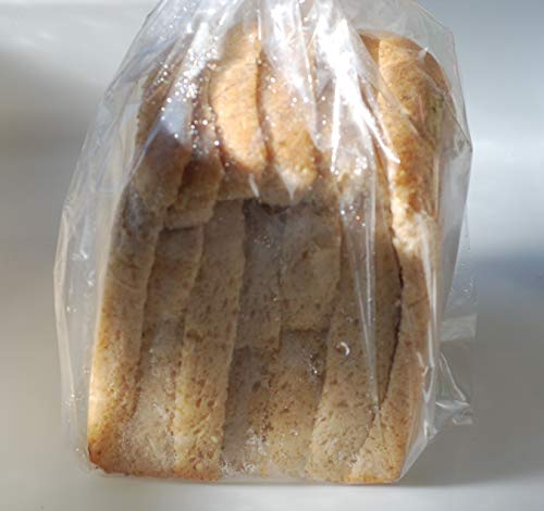 全粒粉パン(砂糖不使用・塩不使用)国産小麦の全粒粉90%使用 ミドルサイズ240g (7枚カット)