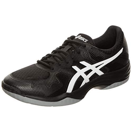 ASICS Herren Gel-Tactic Leichtathletik-Schuh, Schwarz Weiß, 44 EU