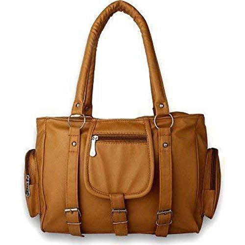 M.S ZONE Women's Tote Bag (MS14_Orange)