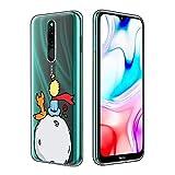 Yoedge Funda para Samsung Galaxy S20 FE 5G, Cárcasa Silicona Transparente con Dibujos Animados Diseño Antigolpes Suave [El Principito] Resistente Case para Samsung S20 Lite / S20 Fan Edition (Zorro)