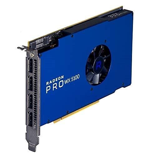 Radeon Pro Wx 5100, 8Gb, 4 Dp,(Precision