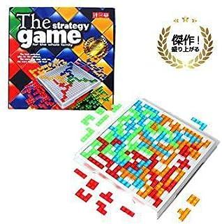 ECONUS ブロックス ボードゲーム 簡単ルールで遊びやすい (対象年齢7歳)