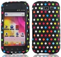 Bundle Accessory for T-mobil Samsung Galaxy S Blaze 4g T769 - Rainbow Dots Designer Hard Case Protector Cover + Lf Stylus Pen