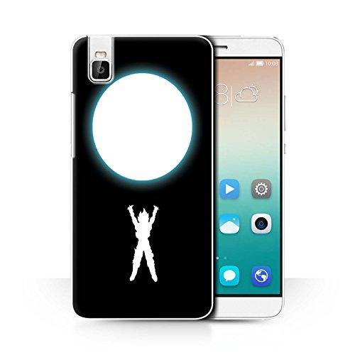 Hülle Für Huawei Honor 7i/ShotX Anime Kämpfer Geisterbombe Inspiriert Design Transparent Ultra Dünn Klar Hart Schutz Handyhülle Case