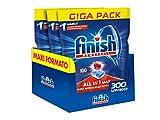 Finish All in 1 Max Pastiglie Lavastoviglie, Regular - 300 Tabs