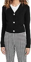 English Factory Women's Heart Button Cardigan
