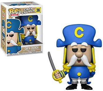 Funko POP! AD Icon  Quaker Oats - Captain Crunch with Sword Multicolor