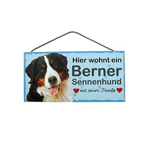 Türschild Berner Sennenhund (6) aus Holz Schild Hund deutsche Herstellung