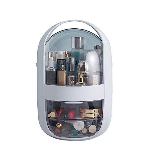 ZHHAOXINCO Classique Rangement Maquillage Présentoir Cosmétique Vanity de Grande Capacité pour Bijoux, Pinceaux de Maquillage, Rouges à Lèvres Cadeau, A