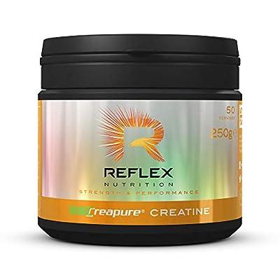 Reflex Nutrition Creapure Creatine Powder Suitable for Vegans (250g)