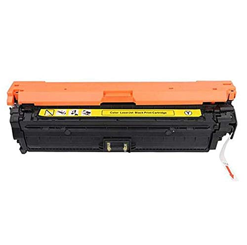 CE264X CF031A CF032A CF033A tonercartridge Compatibel met de HP Color LaserJet Enterprise CM4540 Cm4540f CM4540 Color Laser Printer, 4 kleuren,Yellow toner cartridge