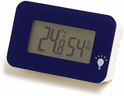 EMPEX シュクレ・イルミー温湿度計 3.3X5.2X1.5cm