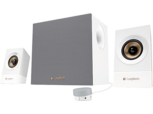 Logitech Z533 conjunto de altavoces 2.1 canales 60 W Blanco - Set de altavoces (2.1 canales, 60 W, Universal, Blanco, 120 W, 55 - 20000 Hz)