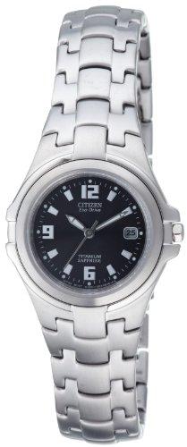 Citizen Damenuhr Super Titanium EW0650-51F