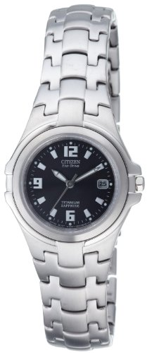 Citizen Damenuhr Super Titanium EW0650-51F